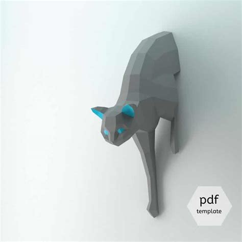 paper craft 3d 3d paper craft origami lets you build animal to hang