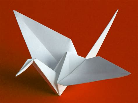 origami swan origami swan someone has built it before