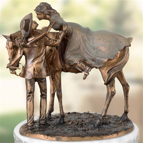 cowboy rubber sts wedding cake topper