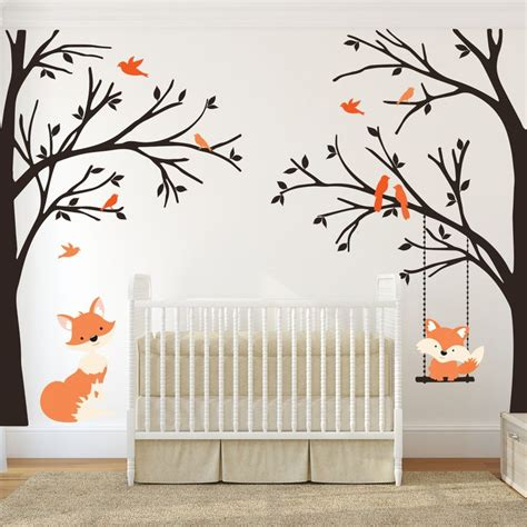 baby nursery tree wall decals 1000 ideas about baby wall decals on nursery