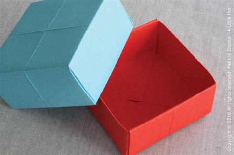 how to make a origami paper box 手工教程 handcraft tutorials 10 01 2010 11 01 2010