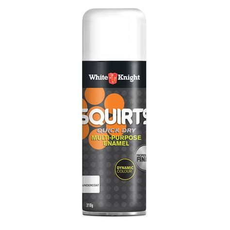 spray painting undercoat white squirts 310g undercoat spray paint bunnings