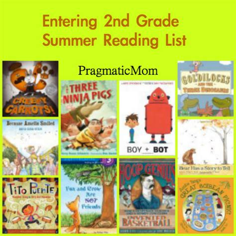 picture books for 2nd graders rising 5th grade summer reading list pragmaticmom
