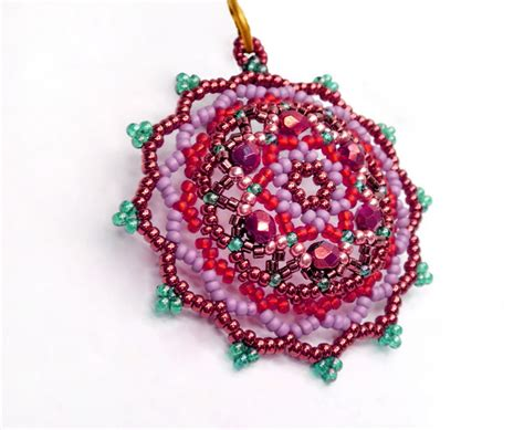bead pendant patterns free pattern for beautiful beaded pendant fair magic