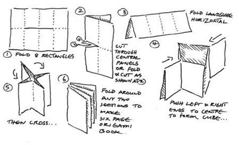 how to make a origami book bald worm s marvellous mathematics day origami books