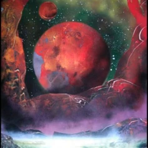 spray paint artist spray painted space s