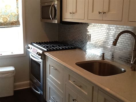 stainless steel backsplash kitchen stainless steel mosaic tile 1x2 subway tile outlet