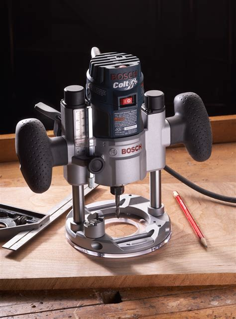 bosch woodworking tools bosch colt router plunge base tool test