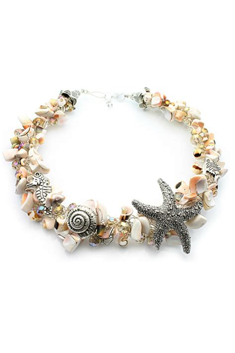 Nurabella Sea Shell Necklace From New Hshire By