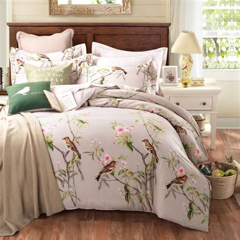 pastoral style 100 cotton bedding sets king size