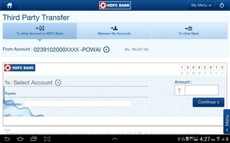 make hdfc credit card payment pay credit card bill hdfc with debit infocard co