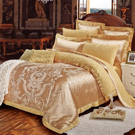 luxury bedding outstanding luxury gold bedding presence atzine