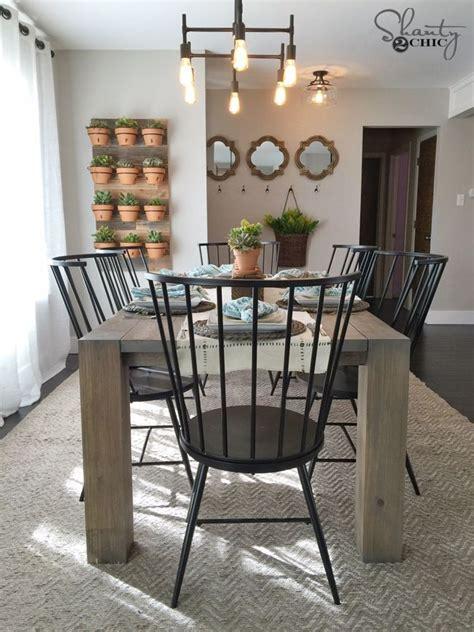 farmhouse dining table and chairs best 25 modern farmhouse table ideas on