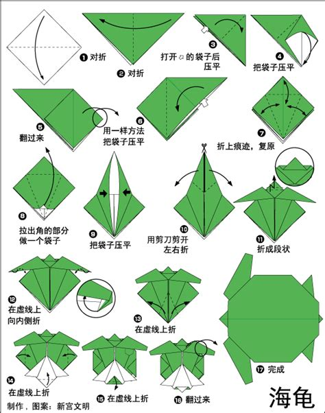 www origami club origami tropical turtle