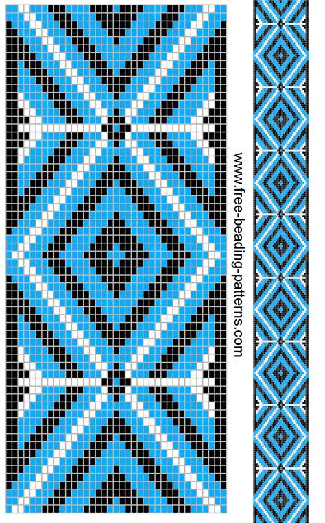 cool beading patterns guitar cool blue beading loom jewelry