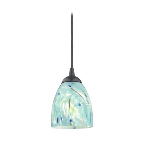 mini pendant light shades black mini pendant light with turquoise glass shade