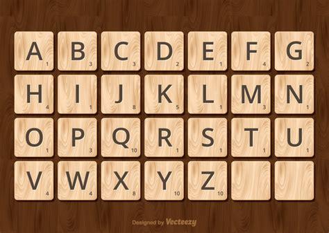 ai scrabble scrabble alphabet vector free vector in ai