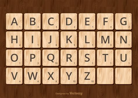 Image Gallery Scrabble Alphabet