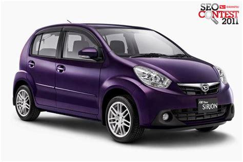 Daihatsu Indonesia by New Daihatsu Sirion Mobil Keluarga Terbaik Di Indonesia