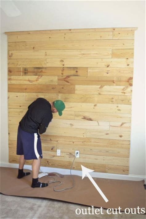 how to make a headboard out of wood how to make pallet headboard on wall