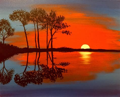 paint nite orange county mesmerizing 70 sunset orange paint inspiration design of