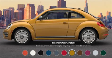 Volkswagen Colors by 2017 Volkswagen Beetle Color Options