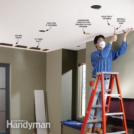 how to install recessed lighting in ceiling how to install recessed lighting for dramatic effect the
