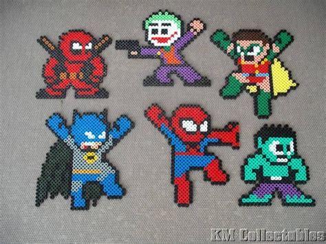 hama midi designs d 233 tails sur heroes hama perles free p p batman
