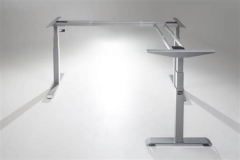 l shaped standing desk moddesk pro l shaped corner standing desk multitable