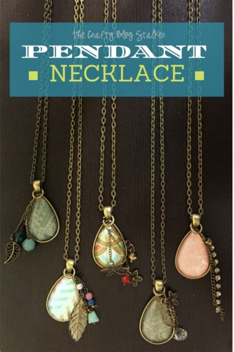 jewelry to make and sell how to make a jewelry pendant necklace the crafty