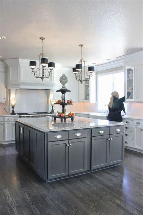 grey wood floors kitchen 25 best ideas about grey kitchen floor on