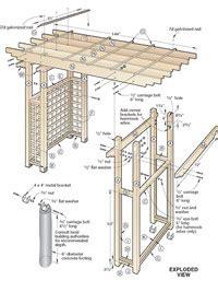 garden arbor woodworking plans pdf diy garden arbor getaway woodworking plan
