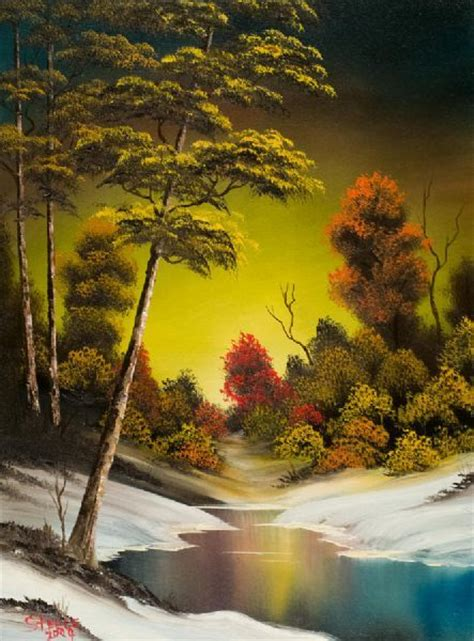 bob ross painting classes indiana 25 best ideas about sunset paintings on
