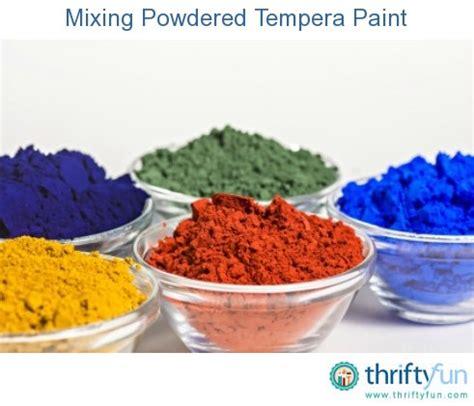 tempera paint vs acrylic paint on canvas mixing powdered tempera paint thriftyfun