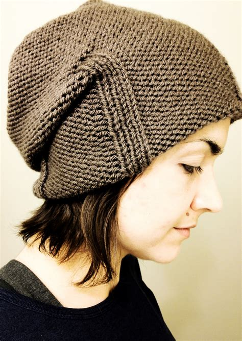 knitting patterns for slouchy hats free slouchy beanie knitting patterns in the loop knitting