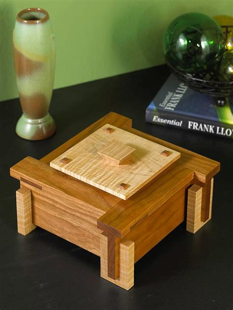woodworking gift plans architectural keepsake box woodworking plan from wood magazine