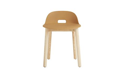 low back alfi low back chair design within reach