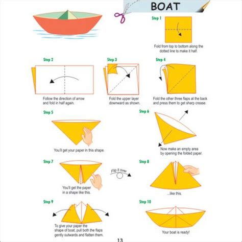 how to fold a boat origami the world s catalog of ideas