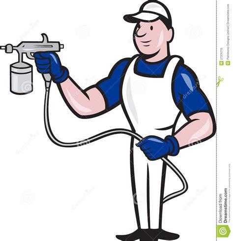 spray painter wage australia spray painter spraying gun royalty free stock
