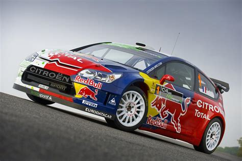Citroen C4 Rally by Citroen Launches The Green Rally Car Scoop News