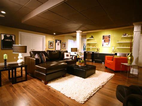 sports themed basement ideas basement finishing costs hgtv