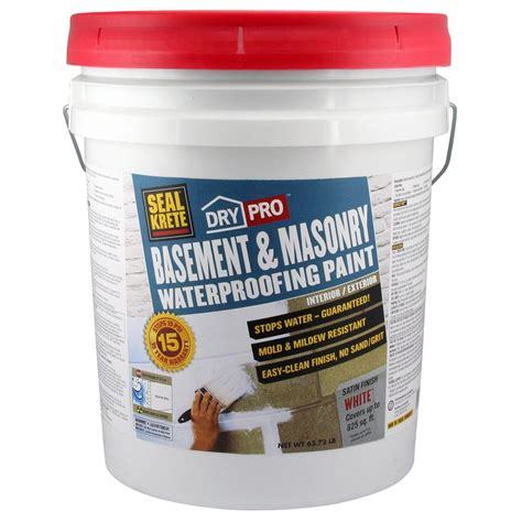 home depot paint guard shop seal krete basement masonry waterproofing paint 5