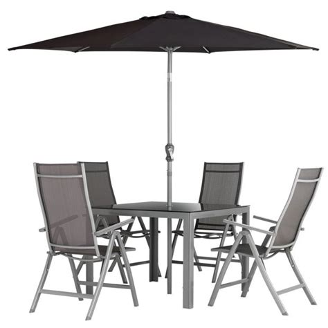 steel patio furniture sets buy malibu 4 seater steel patio set at argos co uk your