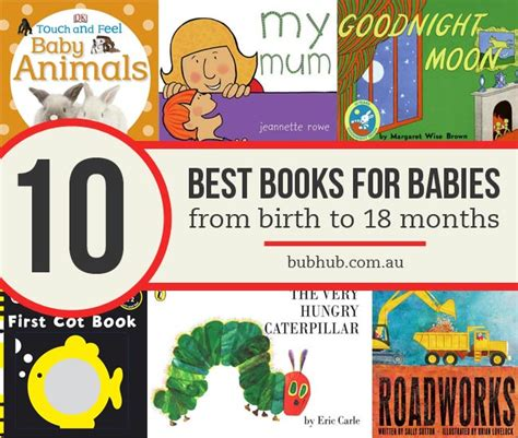 best picture books for babies top 10 best books for babies from birth to 18 months bub hub