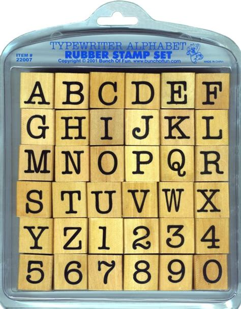 large letter rubber sts big rubber st sets by bunch of