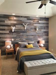 bedroom wall design 30 wood accent walls to make every space cozier digsdigs