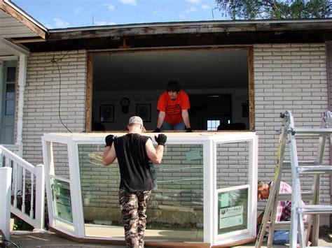 Installing A Bow Window bay window installation edgerton ohio jeremykrill com
