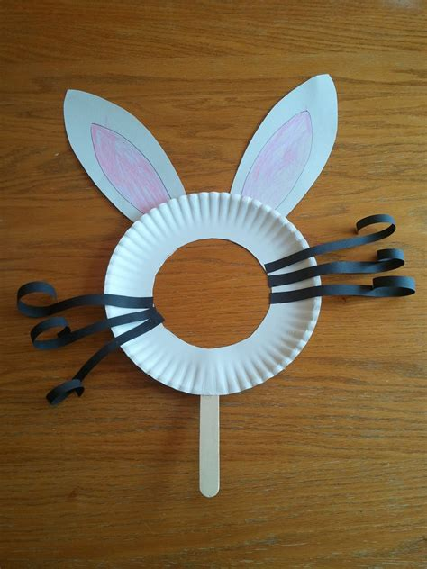 paper plate bunny craft 11 easy peasy easter crafts for toddlers