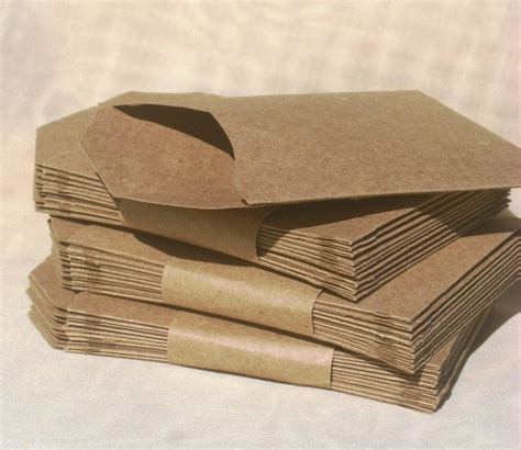craft paper envelopes kraft paper pocket envelopes must make craft ideas