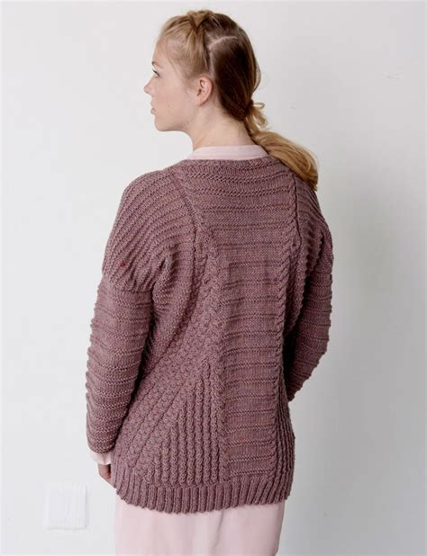 patons free knitting patterns cardigans patons directional cables sweater knit pattern